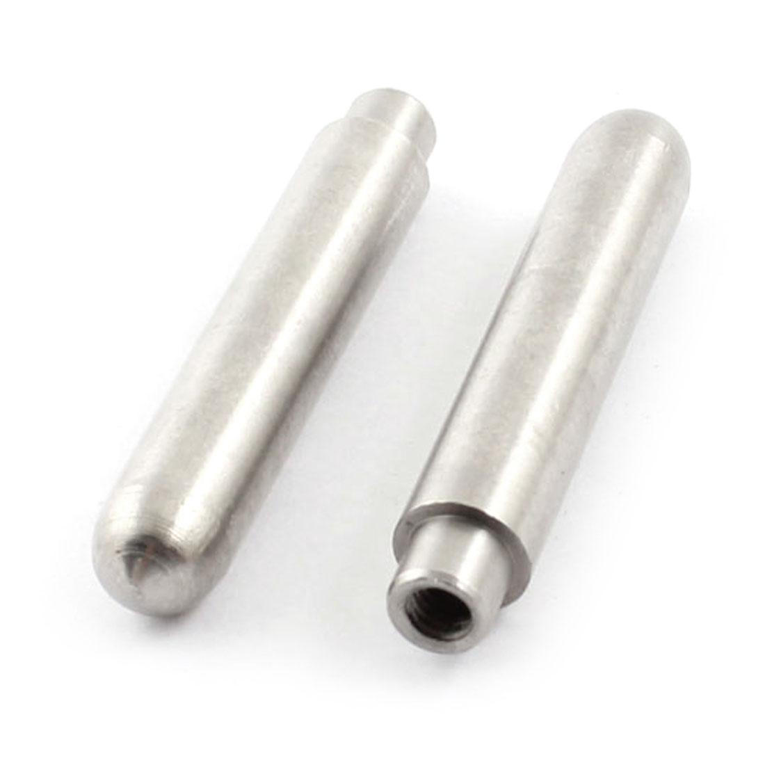 2 Pcs 4mm Female Thread Gray Mold Guide Hole Pillar Involution Accuracy 45mm x 8mm