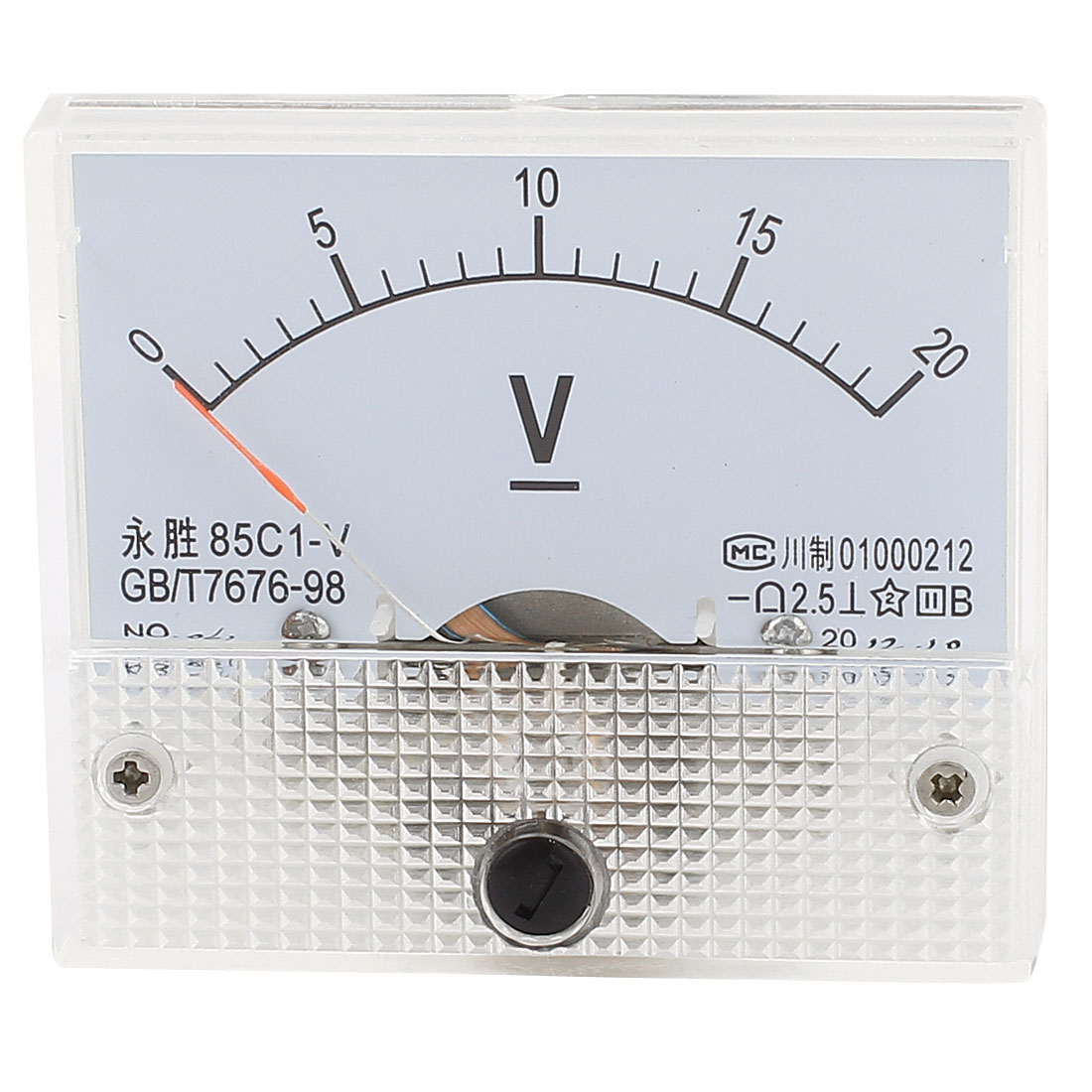 85C1-V Panel DC Voltage Volt Analog Gauge Meter Voltmeter 0-20V