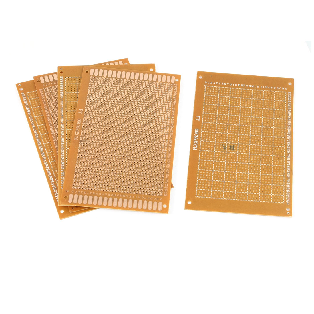 5PCS Proto-Type PCB Circuit Panel Solder DIY Design Board Copper Hole 90x150mm