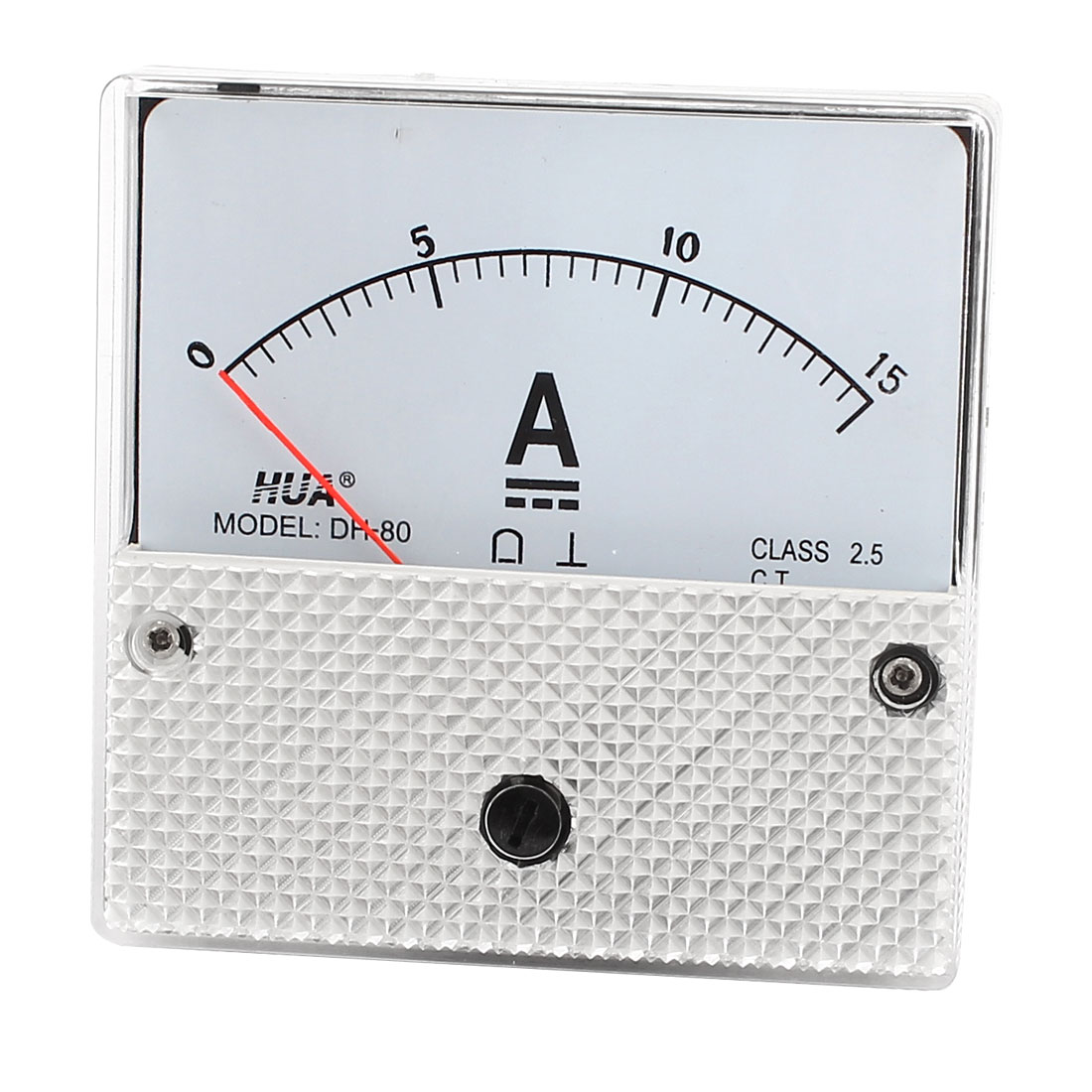 DH-80 Model Panel Current Gauge Analog Meter Ammeter DC 0-15A