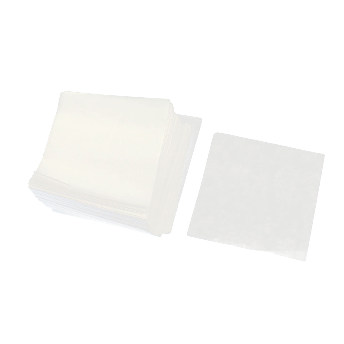 500pcs Laboratory Analytical Square Shaped Weighing Paper 75mmx75mm