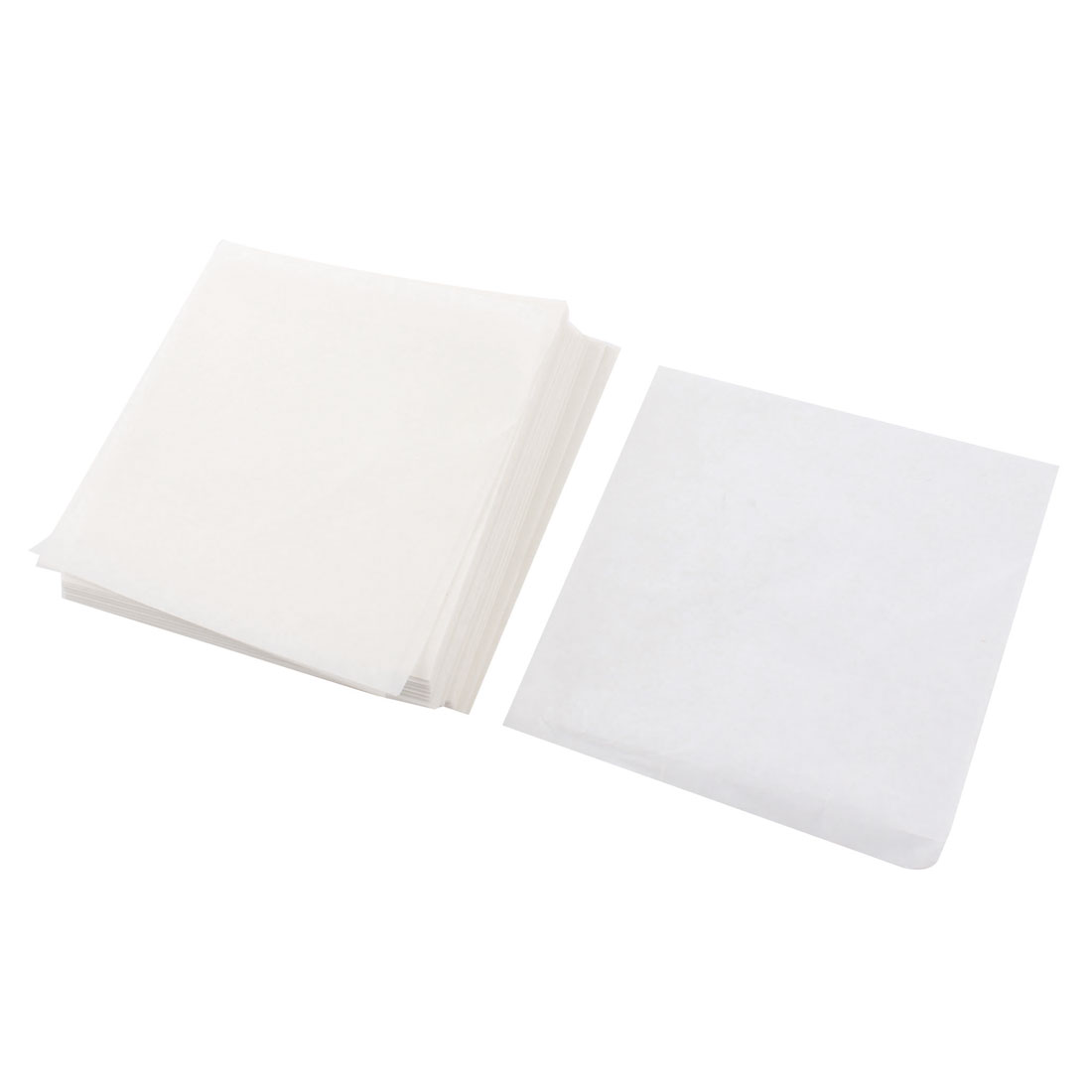 500pcs Laboratory Analytical Square Shaped Weighing Paper 100mmx100mm