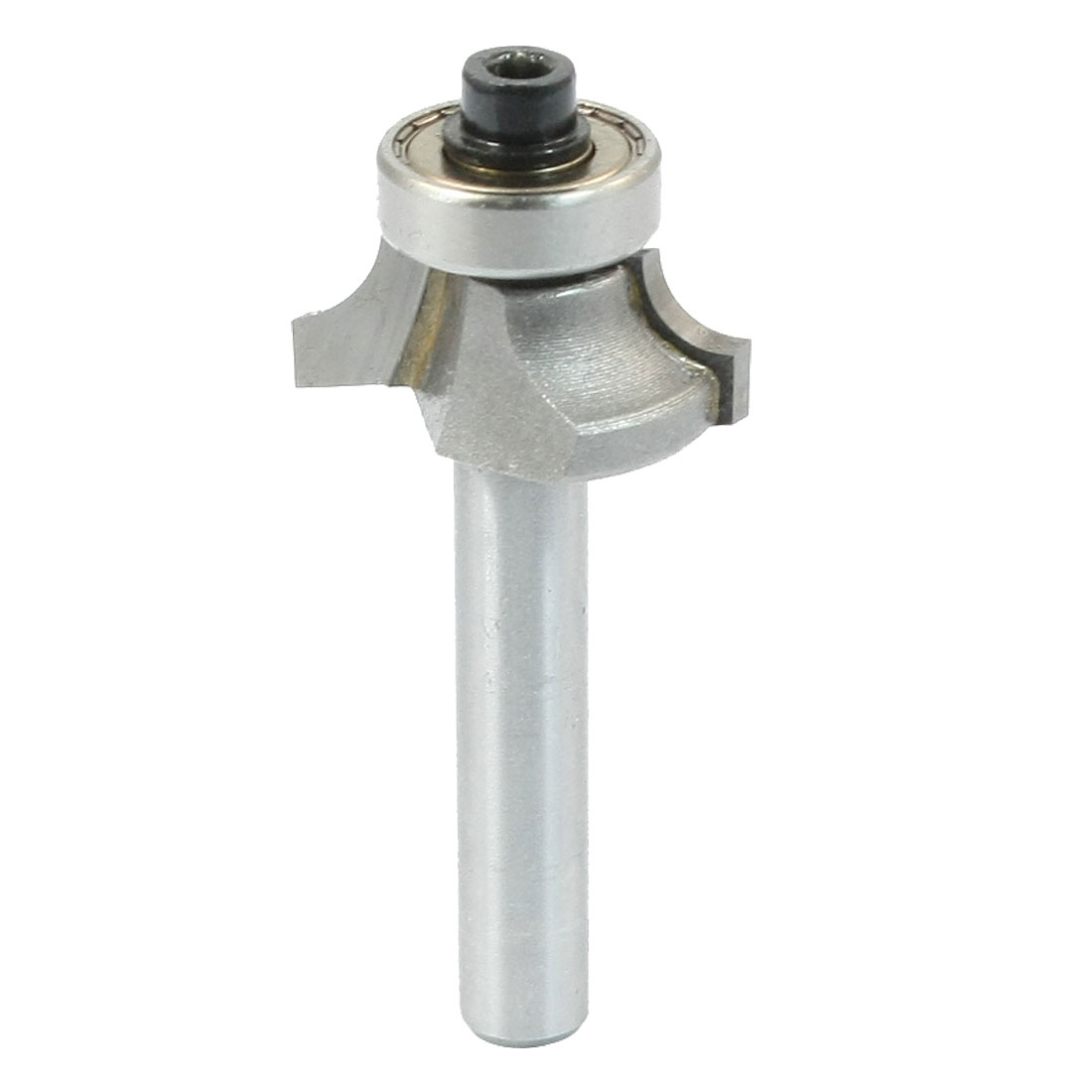 "Silver Tone Corner Rounding Round Over Router Bit 1/4"" x 5/16"""