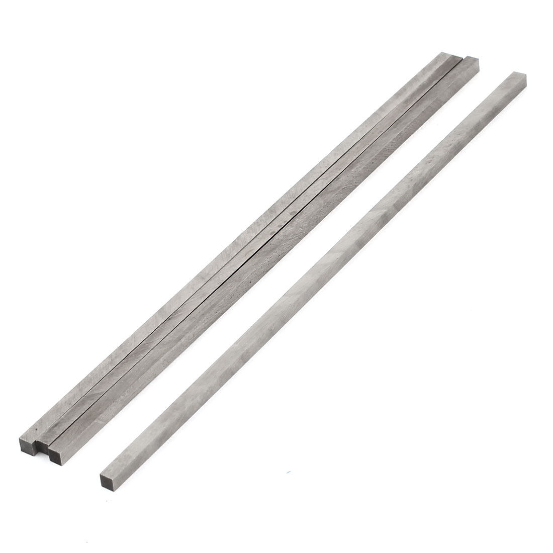 CNC Lathe High Speed Steel Square Shape Cutting Tool Bit Bar 4mmx4mmx200mm 4 Pcs