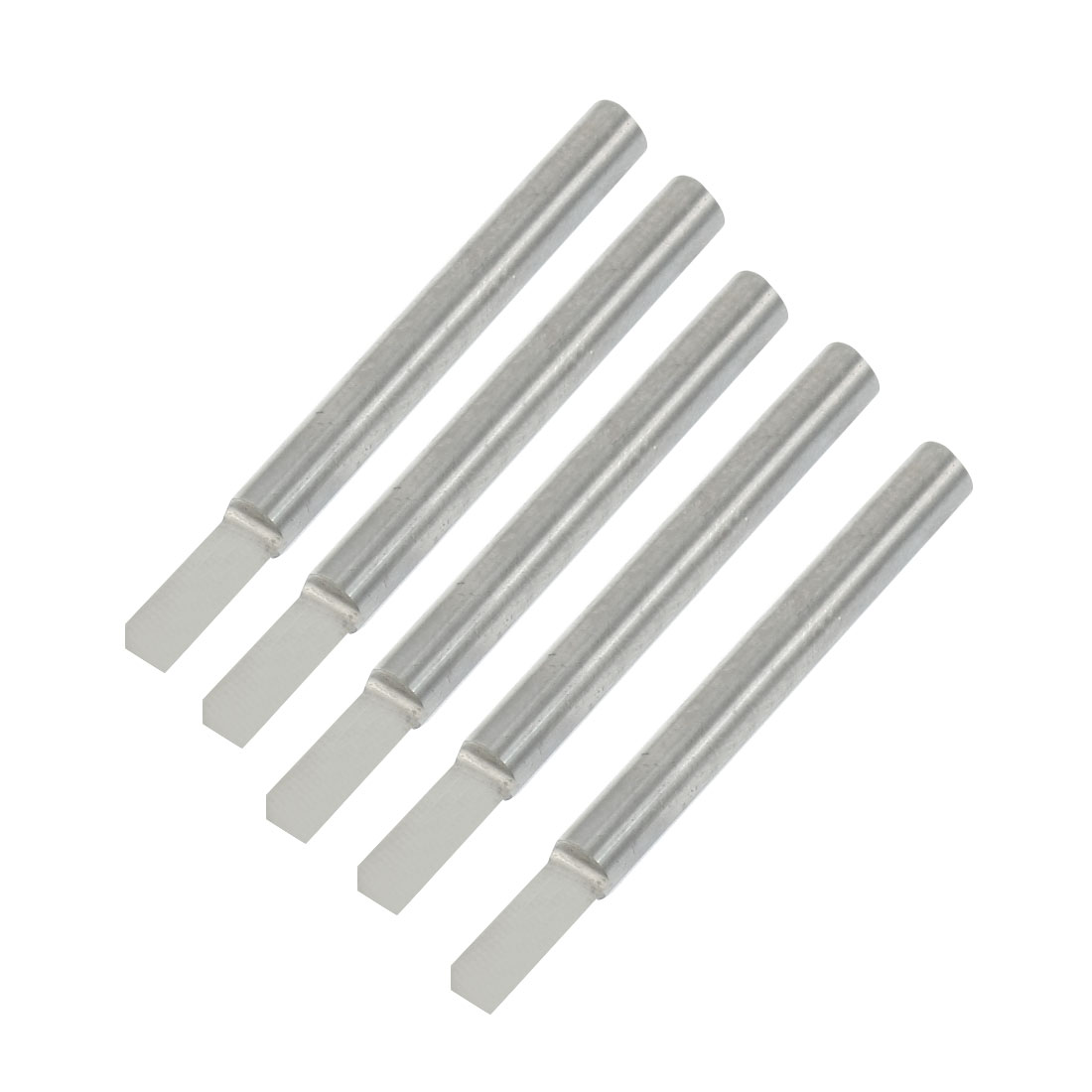 "5 Pcs 5/32"" Shank 3.5mm Blade Width Single Flute Straight Router Bits"