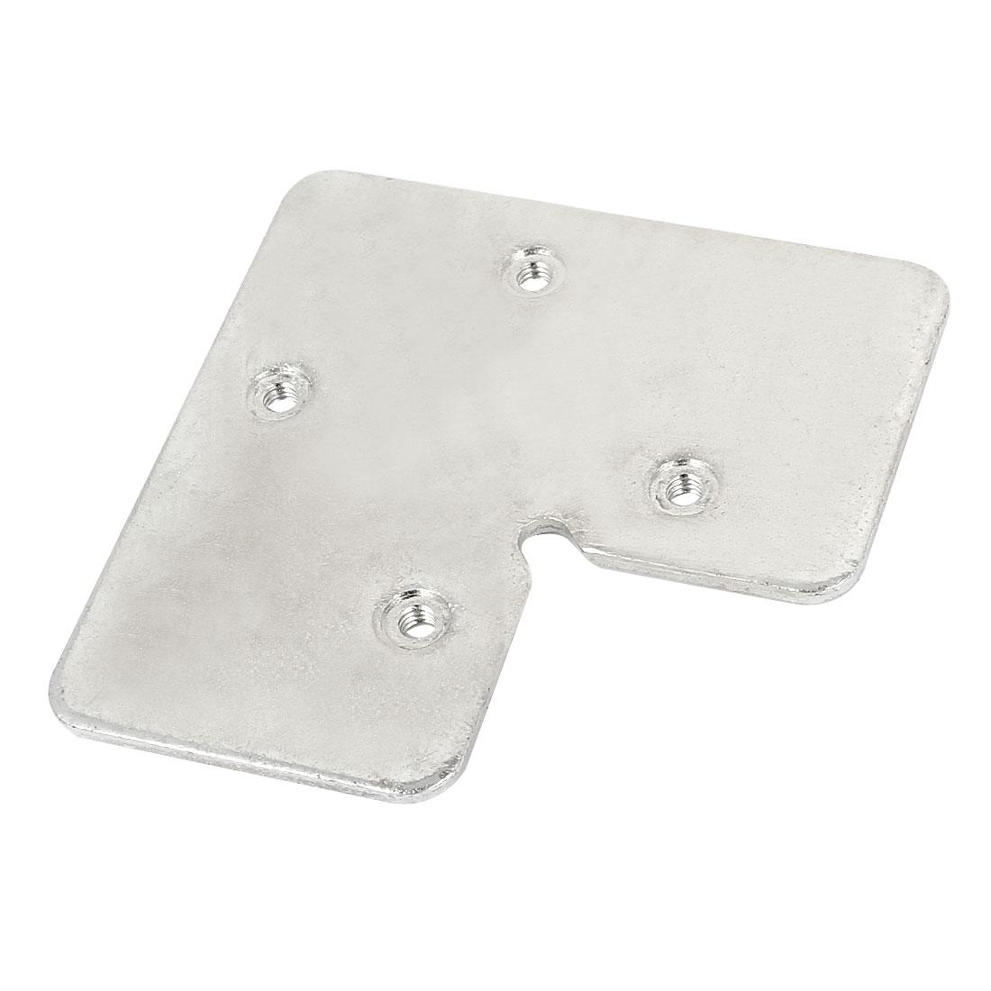 Flat L Shape Repair Angle Plate Corner Brace Bracket 70mm x 70mm