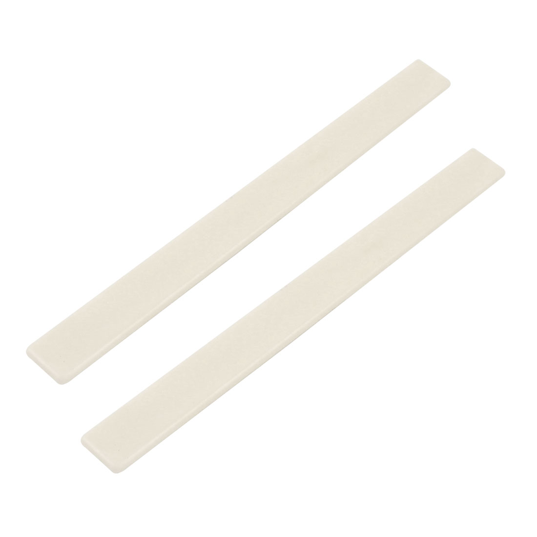 Music Instrument Parts Guitar Bridge Saddle Nut Ivory Color 2 Pcs