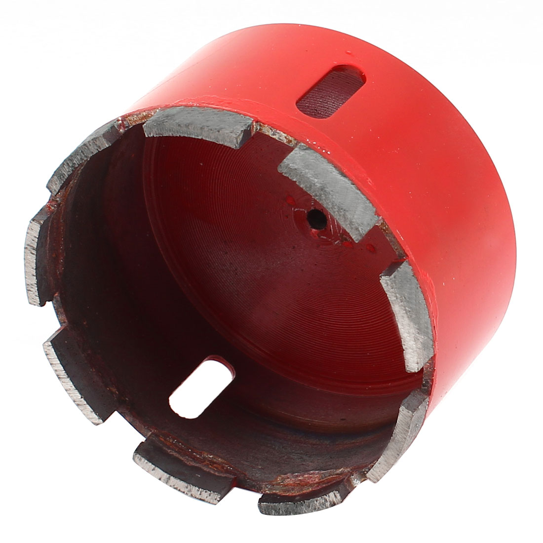95mm Dia Marble Granite Diamond Tool Hole Saw Red