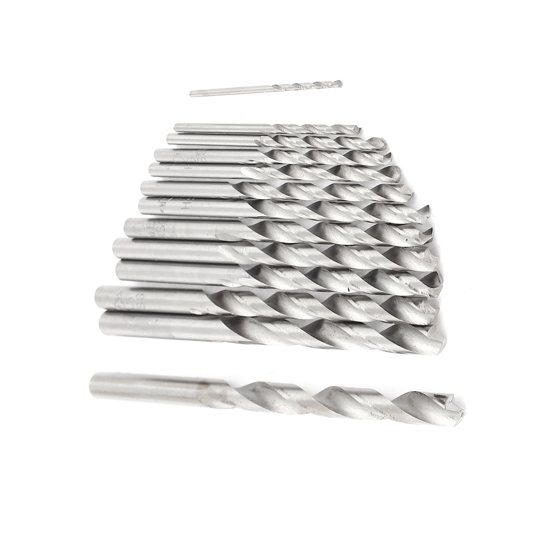 13 in 1 Straight Shank HSS 1.5mm to 6.5mm Twist Drill Bits Set
