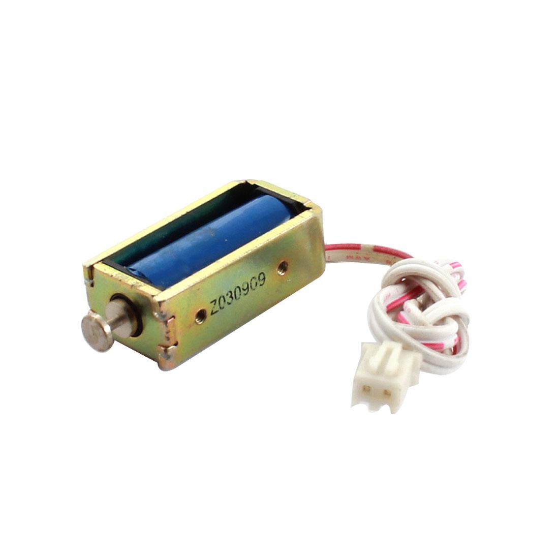 DC 24V 7.2W 30g/3mm Pull Type Electric Magnet Solenoid Electromagnet