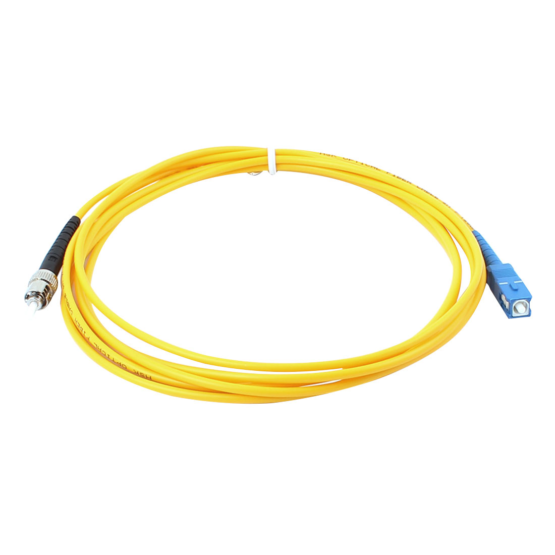 2 Pcs Simplex Single Mode SC to ST Optical Fiber Patch Cable 2 Meters