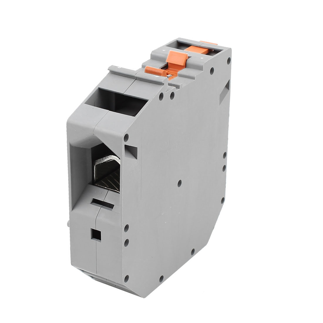 UKH150 Rail Mount 50-150mm2 Wire Screwless Terminal Block Gray 1000V 309A