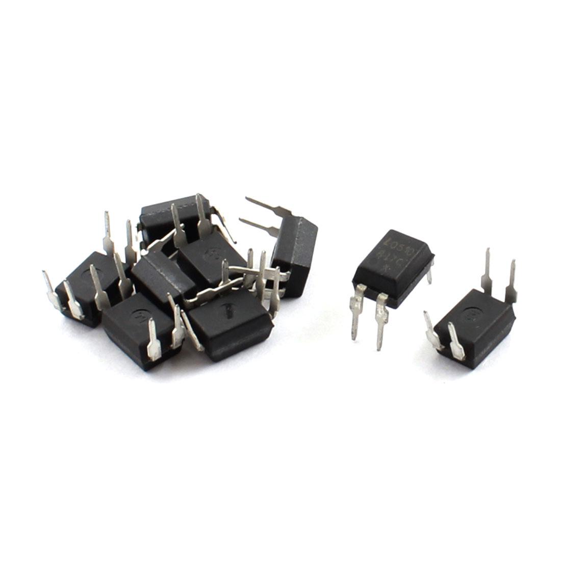 10Pcs PCB Board Through Hole PC817C PC817 EL817 817C Optocoupler DIP-4