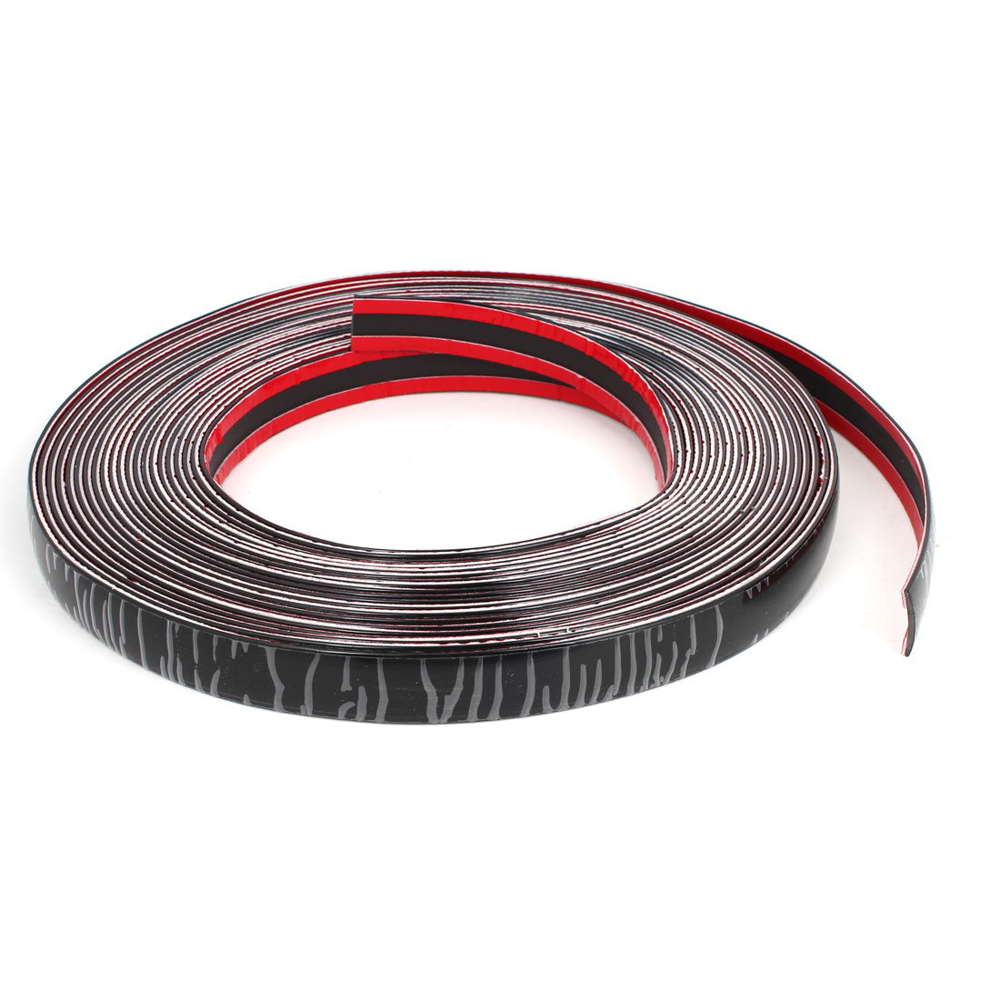 20mm Width 15M Adhesive Flexible Trim Strip Black for Car Interior Exterior Moulding
