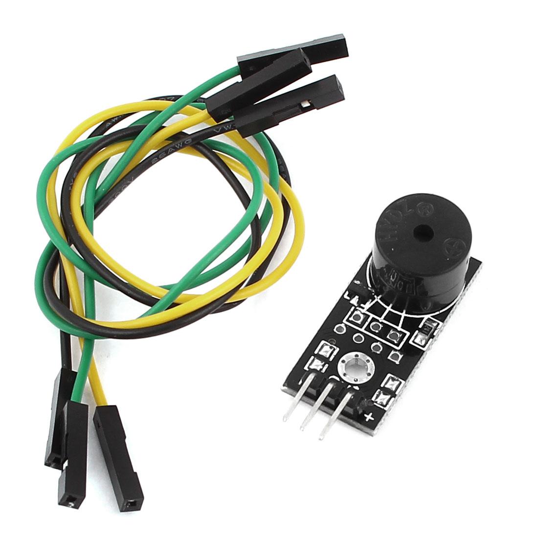 18756H Transistor 3.3V- 5V FR-04 3 Wires Transistor Active Buzzer Alarm Sensor Module