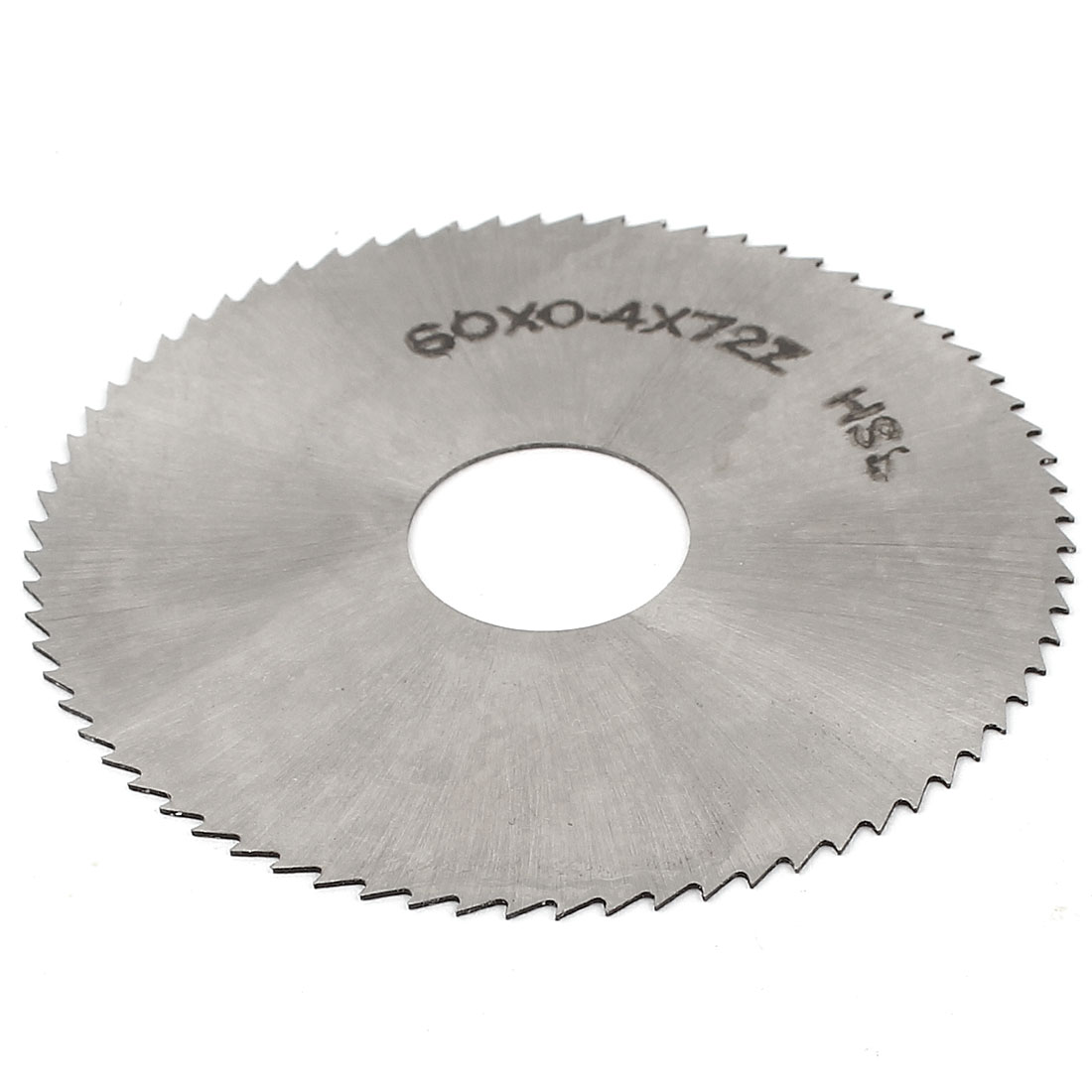 60mm OD 0.4mm Thickness 16mm Arbor 72 Teeth Circular Machinist Milling Cutter Slitting Saw
