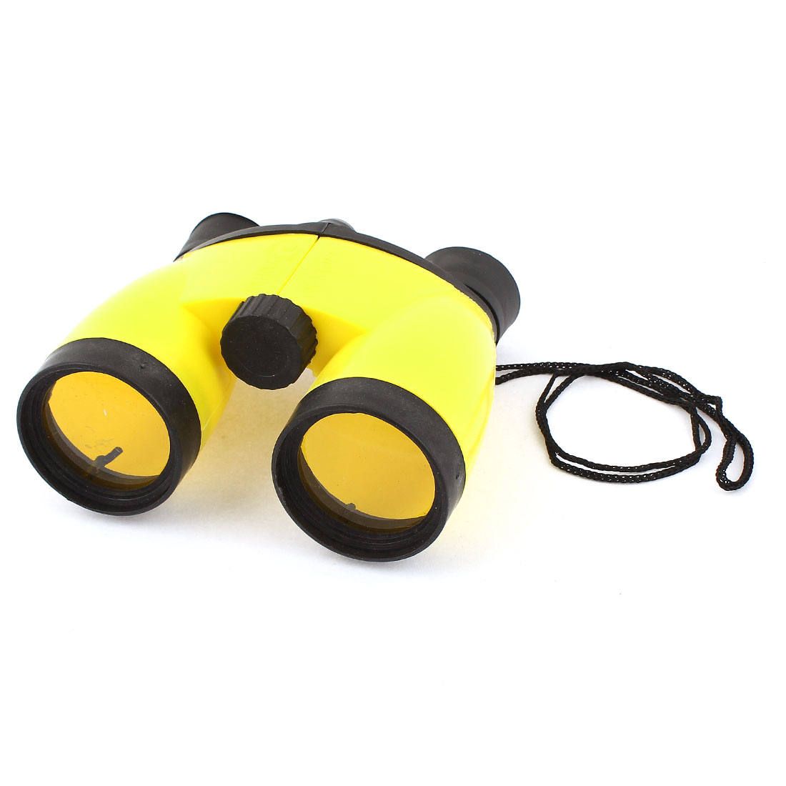 UV Protection Foldable 4x46 Compact Binoculars Telescope Black Yellow