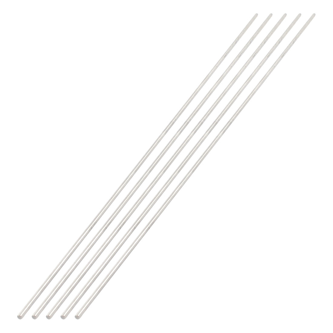 5 Pcs 3mm Diameter 450mm Length Stainless Steel RC Car Gear Axle Rod