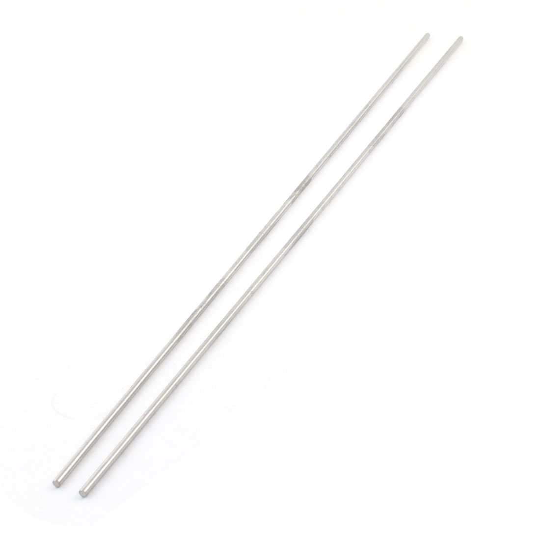 Replacement RC Car Part Stainless Steel Axle Rod Bar Stick 350mm x 3mm 2Pcs