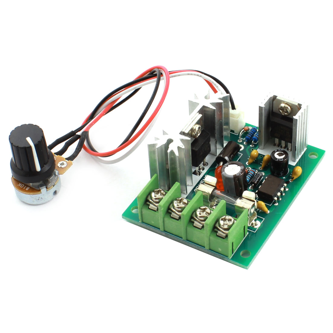 DC 10-30V 120W Potentiometer Adjustable Pulse Width Modulation PWM Motor Speed Controller Governor