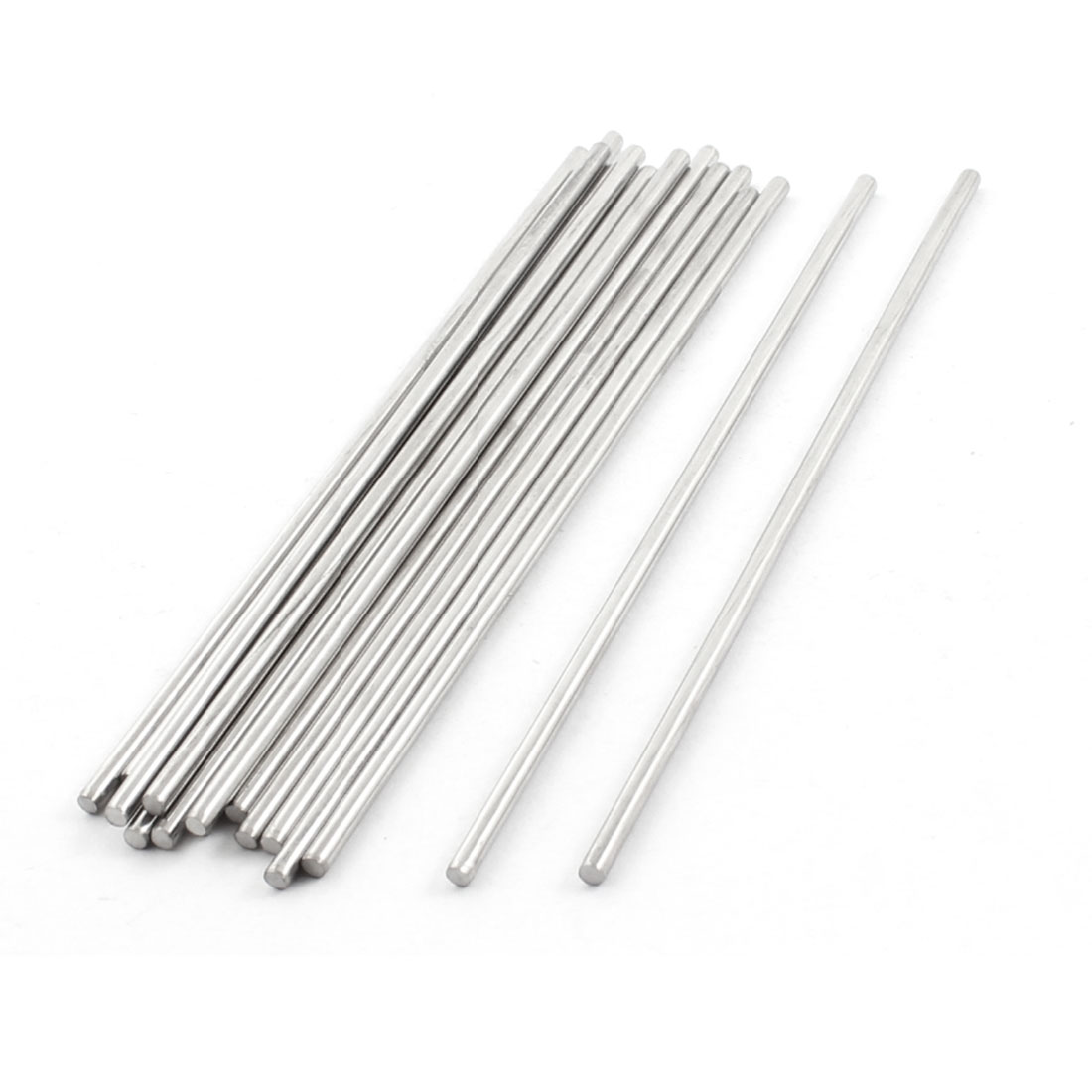 RC Helicopter 250mm x 2.5mm Stainless Steel Round Rod Shaft Bar Stick 15Pcs