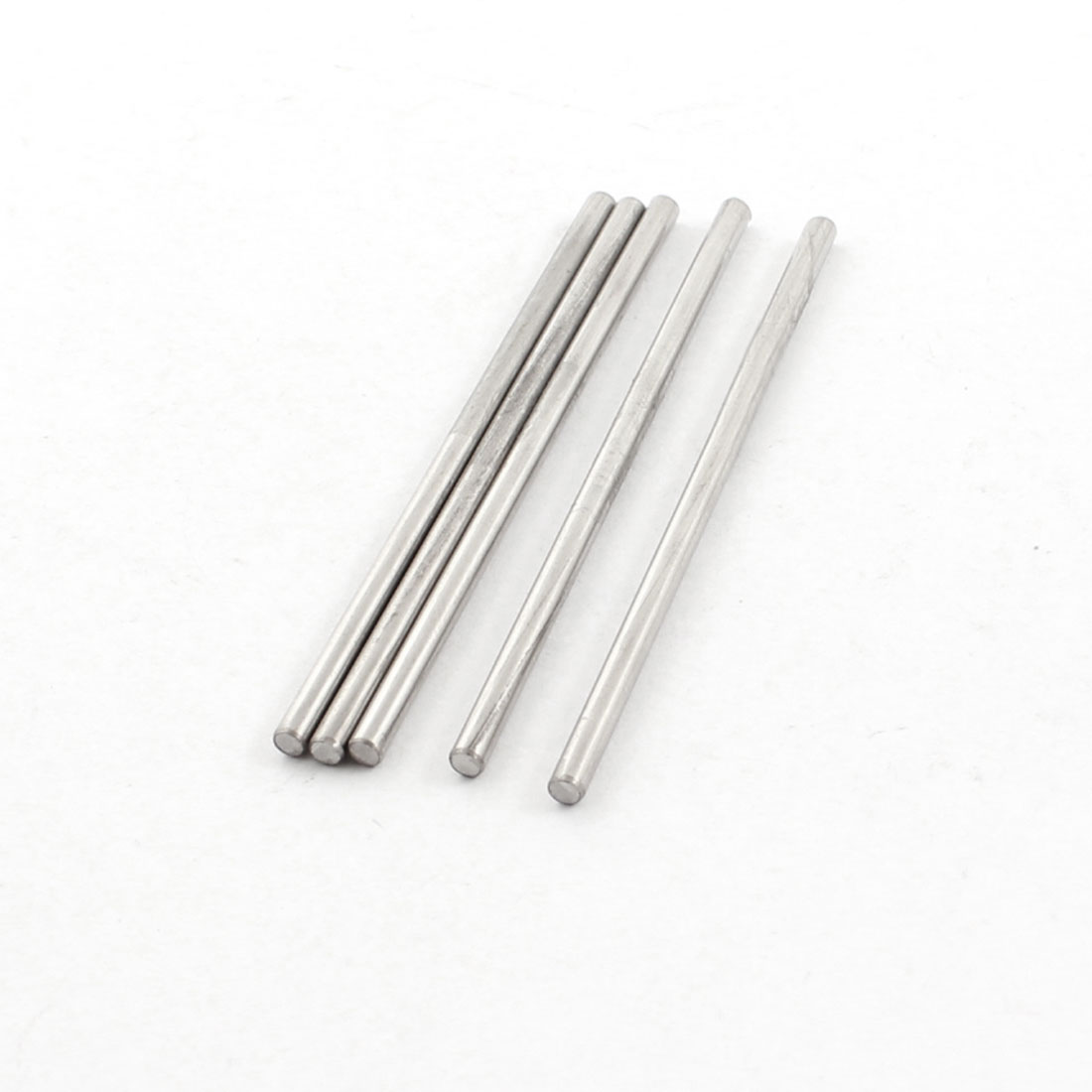 5 Pcs 2.5mm x 60mm Stainless Steel Round Rod Bar Stick for DIY RC Car