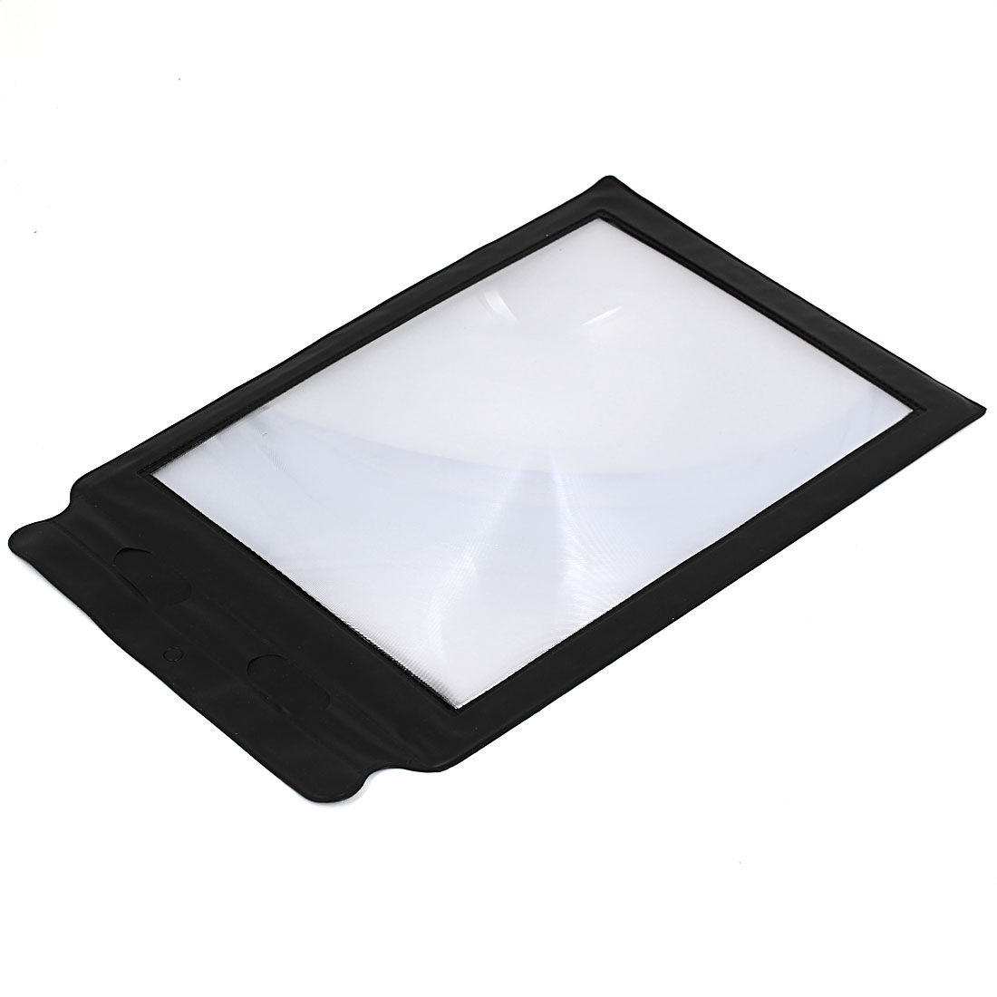 Pocket Flexible Card Magnifying Fresnel Lens Reading Magnifier A4 Size