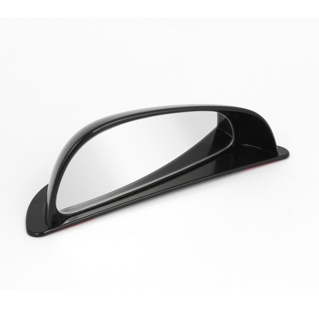 Black Case Wide Angle Auxiliary Automotive Left Side Rear View Blind Spot Mirror