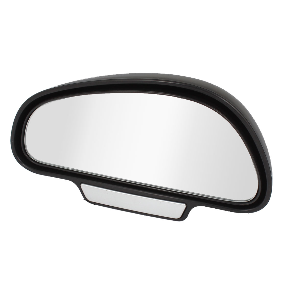 Vehicle Car Black Plastic Left Side Adjustable Rearview Blind Spot Mirror