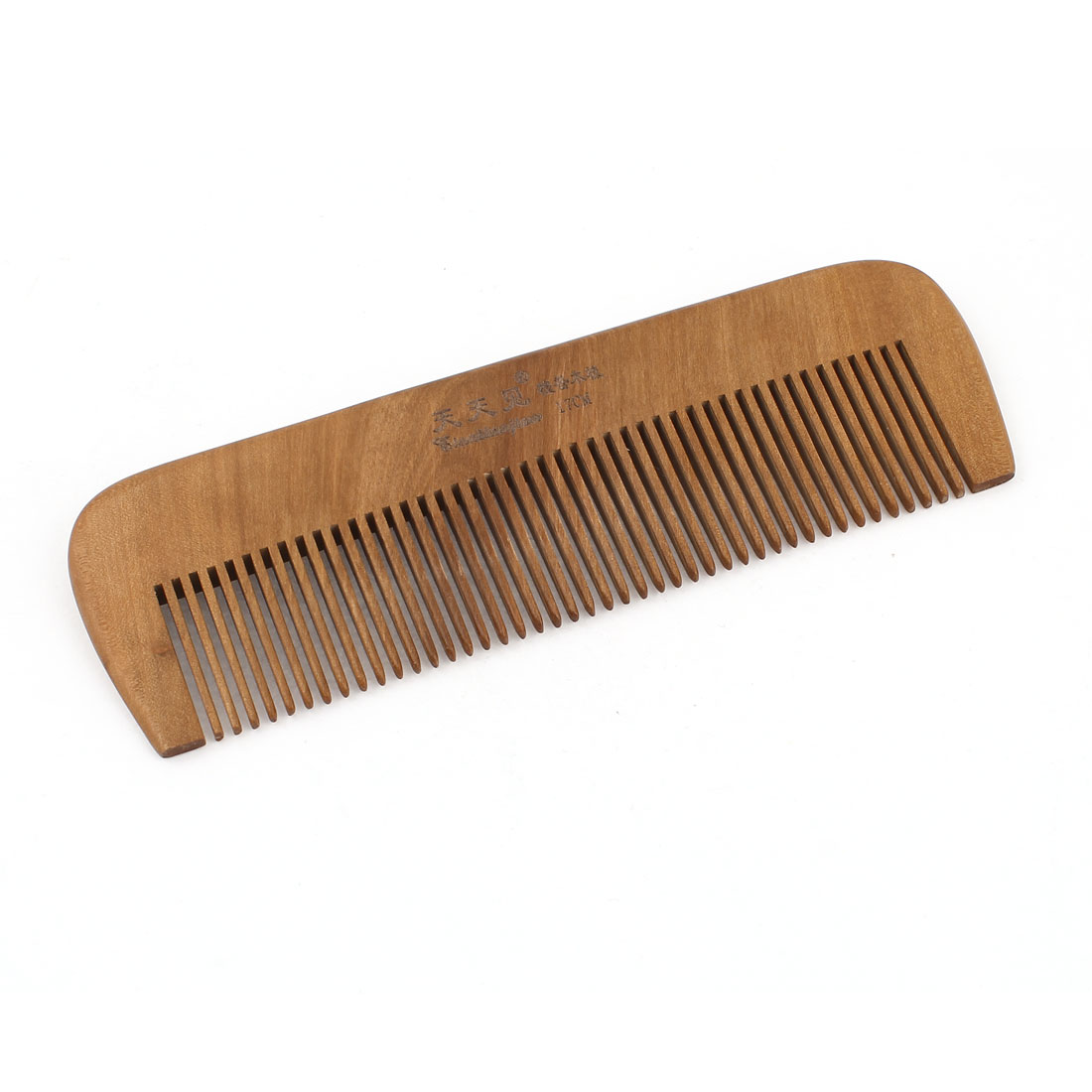 "Portable Wooden Natural Healthy Hair Care Hand Craft Comb 6.5"" Length"
