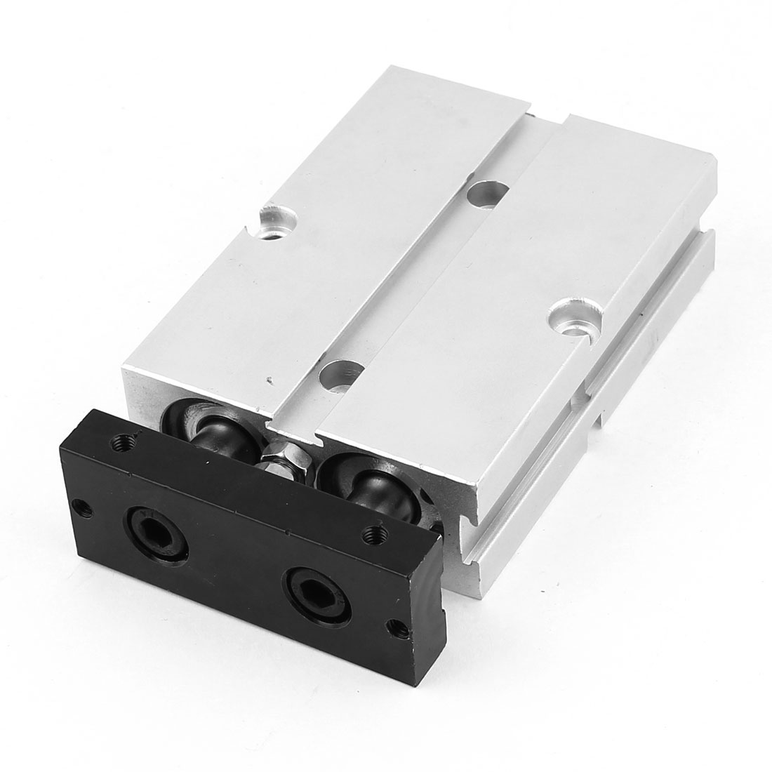 TN20x25 20mm Bore 25mm Stroke Double Rod Aluminum Alloy Pneumatic Air Cylinder