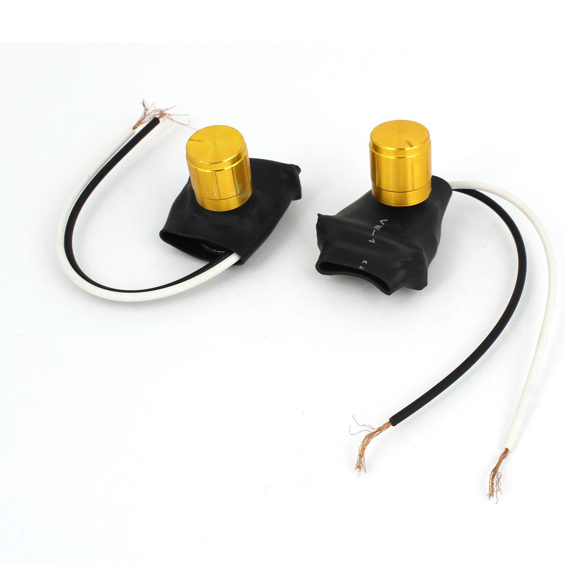 2pcs AC220V 1A Bedroom Desk Table Lamp Light Bulb Dimmer Control Switch