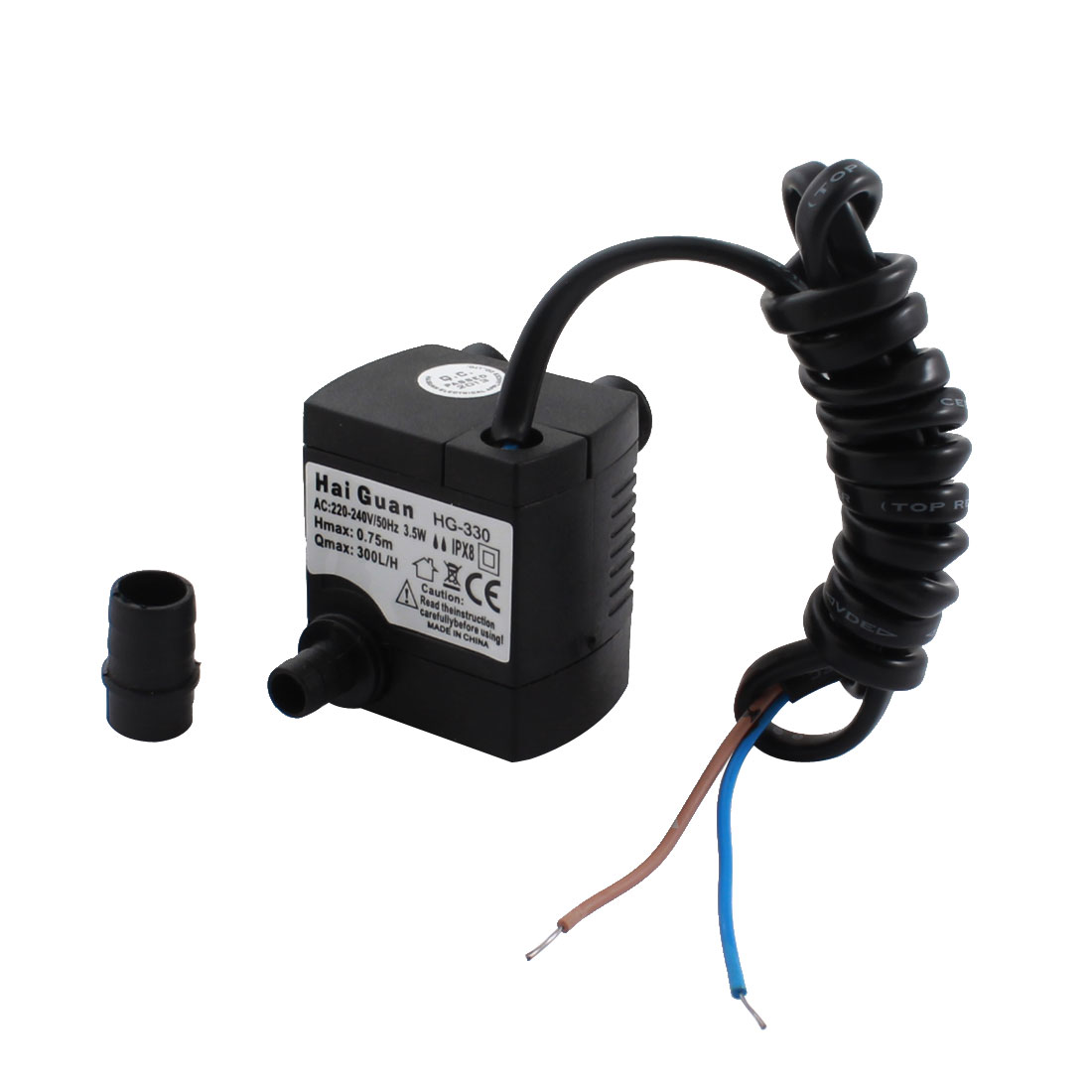 Refrigerator Part 300L/min 0.75m Mini Brushless Submersible Pump Flow Controller AC220-240V 3.5W