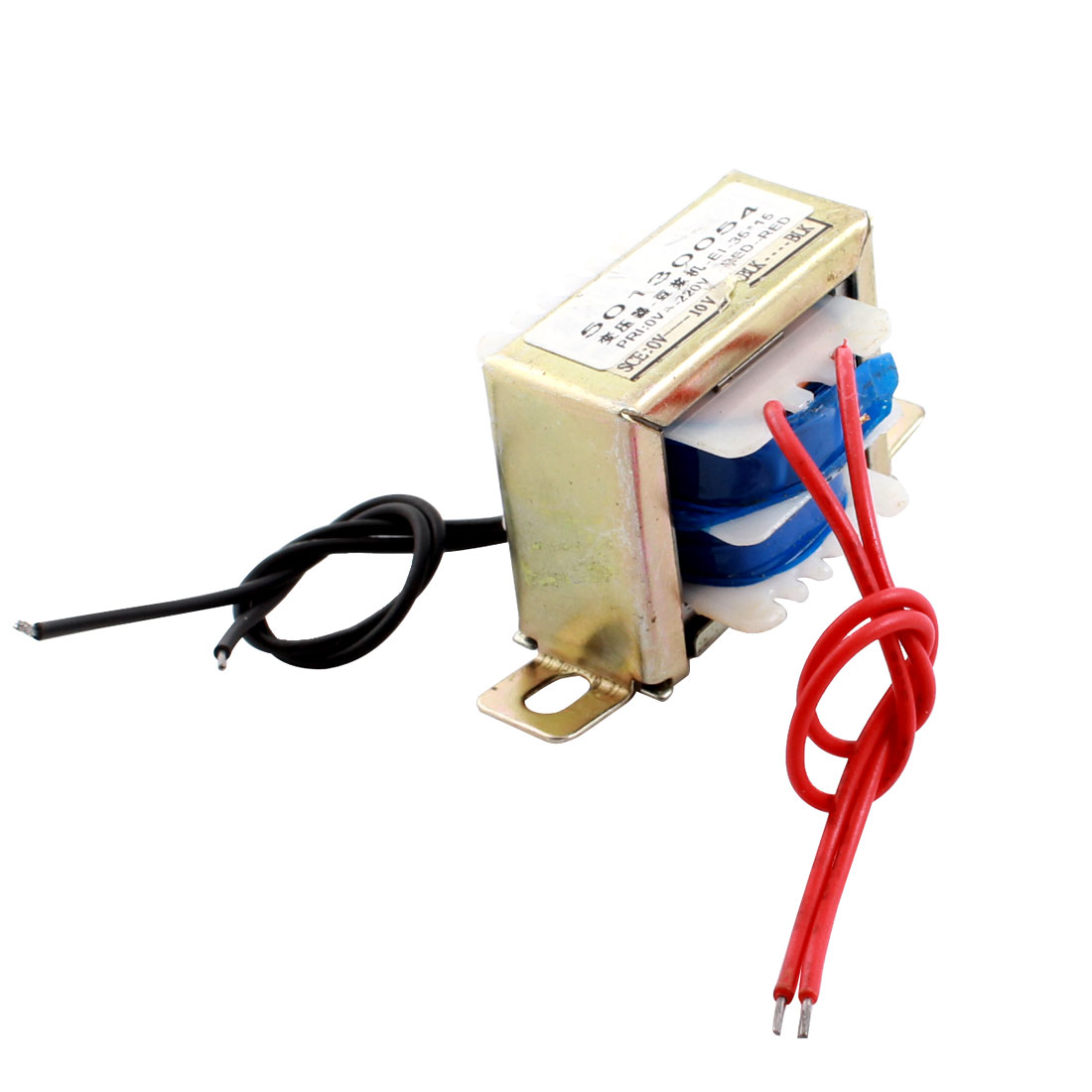 Electric Soymilk Maker 4-Wired Horizontal Mount Ferrite Core EI Power Transformer AC 220V 12V