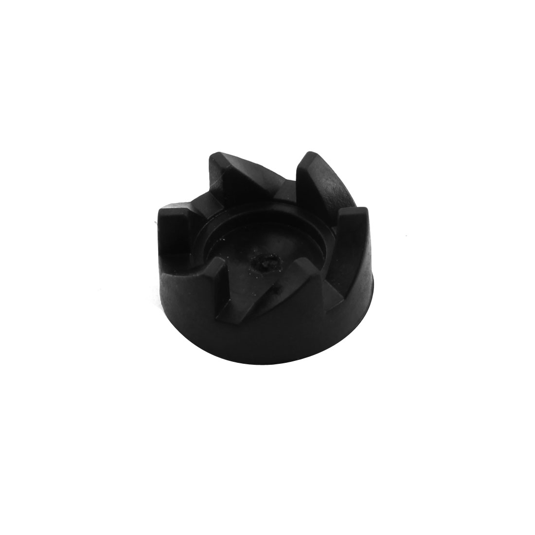 Kitchen Electric Blender Part 34mm Dia Black Rubber 6 Teeth Coupling Coupler Drive Clutch Adapter
