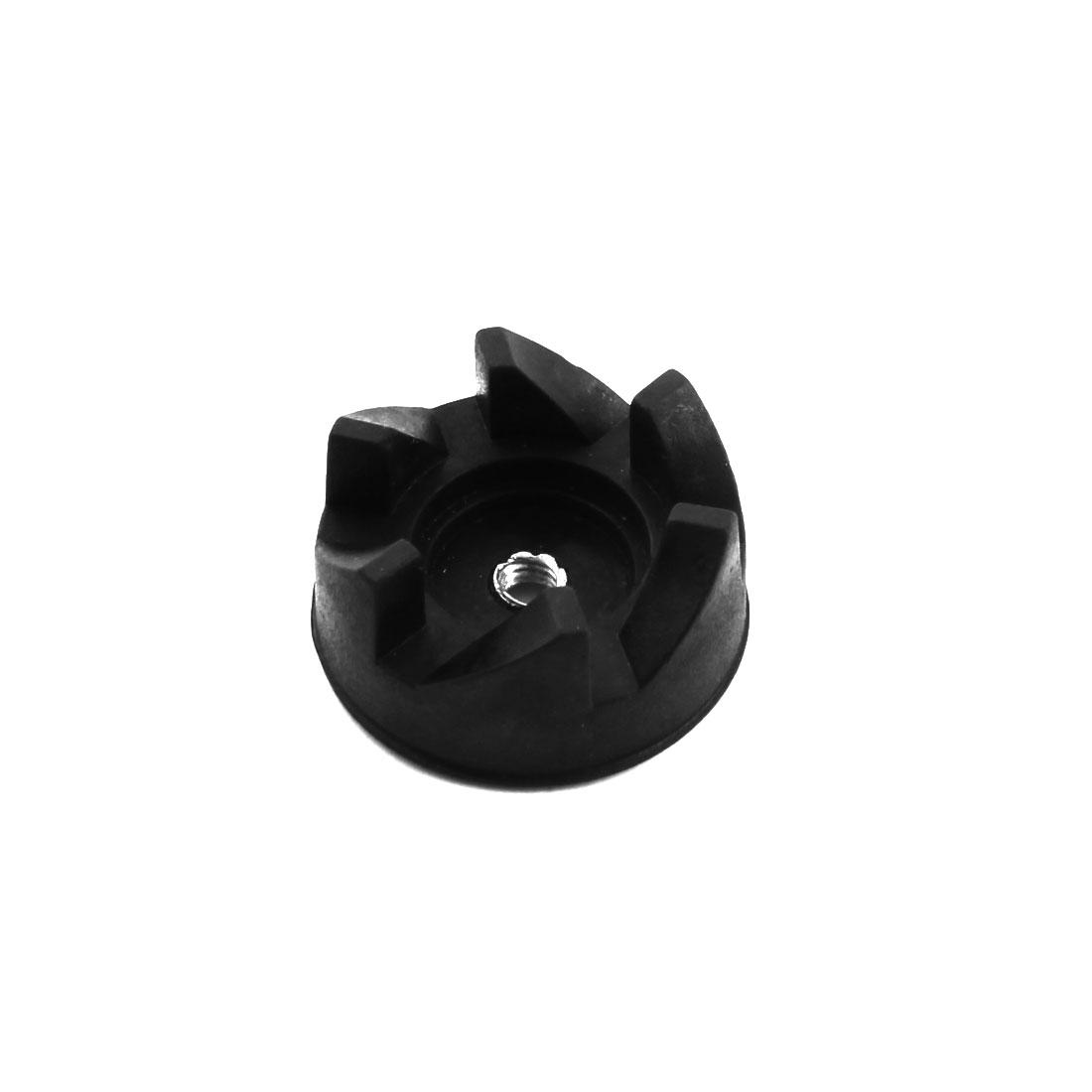 Kitchen Blender Part 6 Teeth Black Rubber Coupler Drive Clutch Gear 34mm Dia