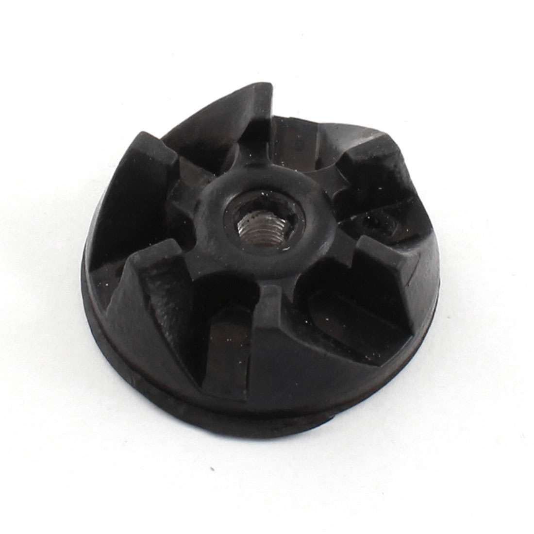 Electric Blender 6T General Purpose Black Rubber Coupler Drive Clutch Adapter 36mm Dia 5.5mm Thread