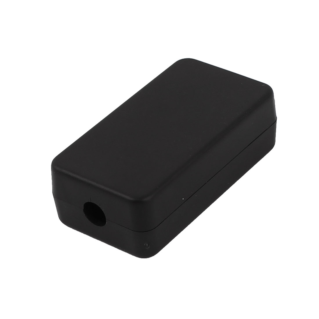 Black Surface Mounted Plastic Electric DIY Junction Box Case 50 x 25 x 15mm