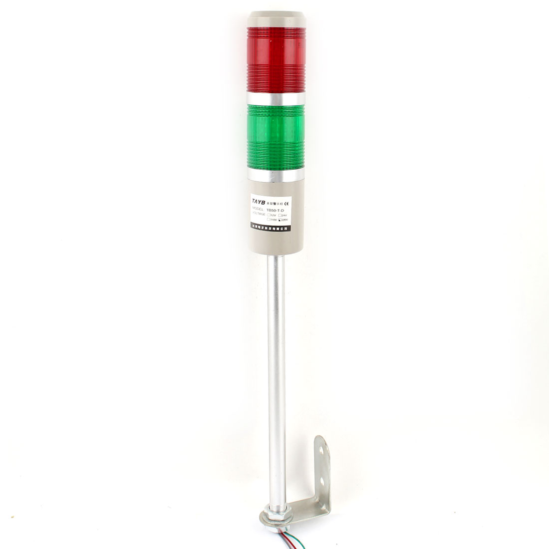 DC 24V Industrial Security Green Red Flash LED Signal Tower Warning Light