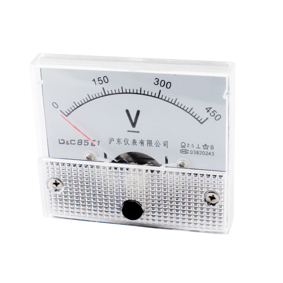 85C1 Volt Pointer Voltmeter Analog Panel Voltage Meter Gauge DC 0-450V