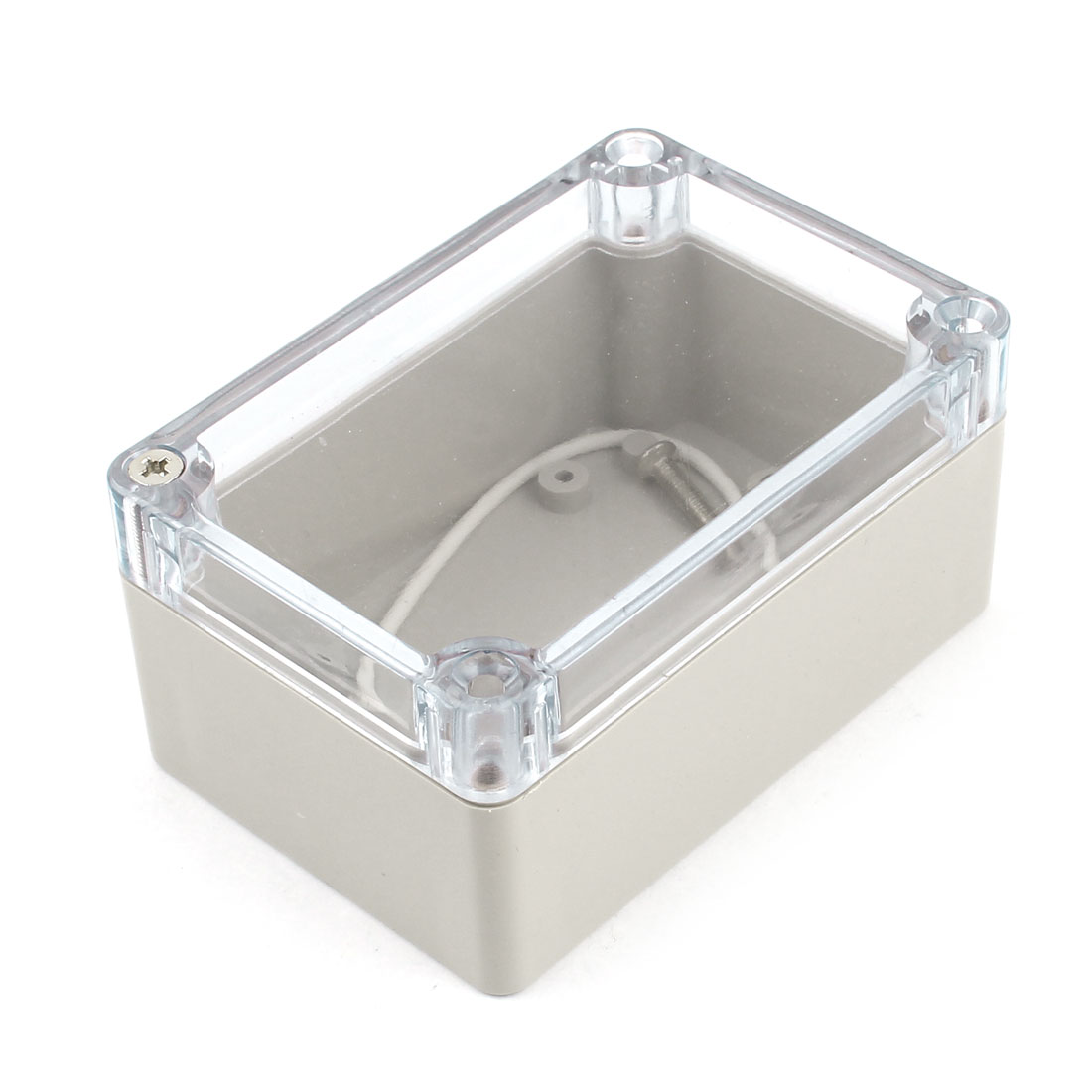 Clear Cover Dustproof IP65 Sealed Electronic Case Junction Box 100 x 67 x 50mm