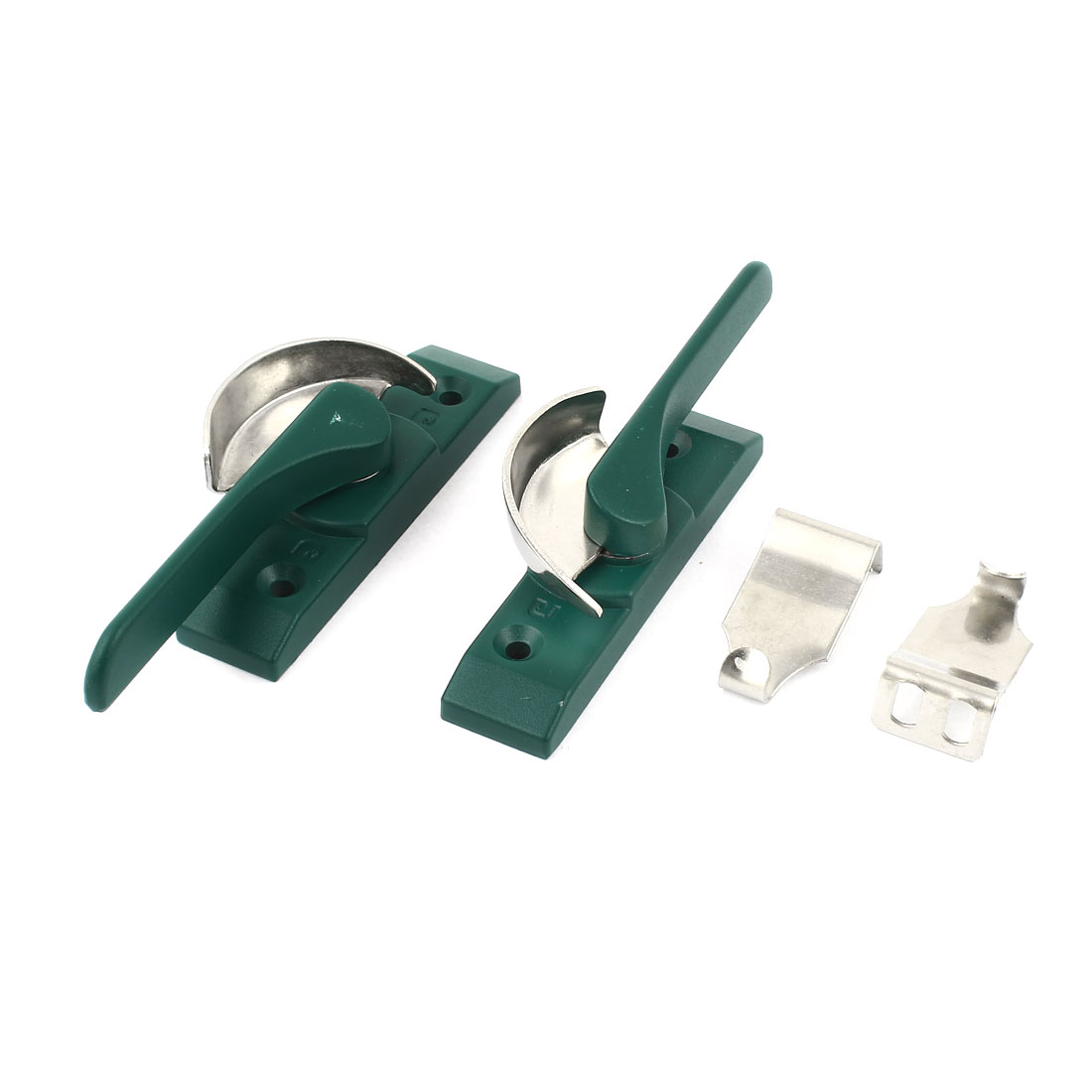 Pair Left Right Hand Window Casement Locking Security Crescent Sash Lock