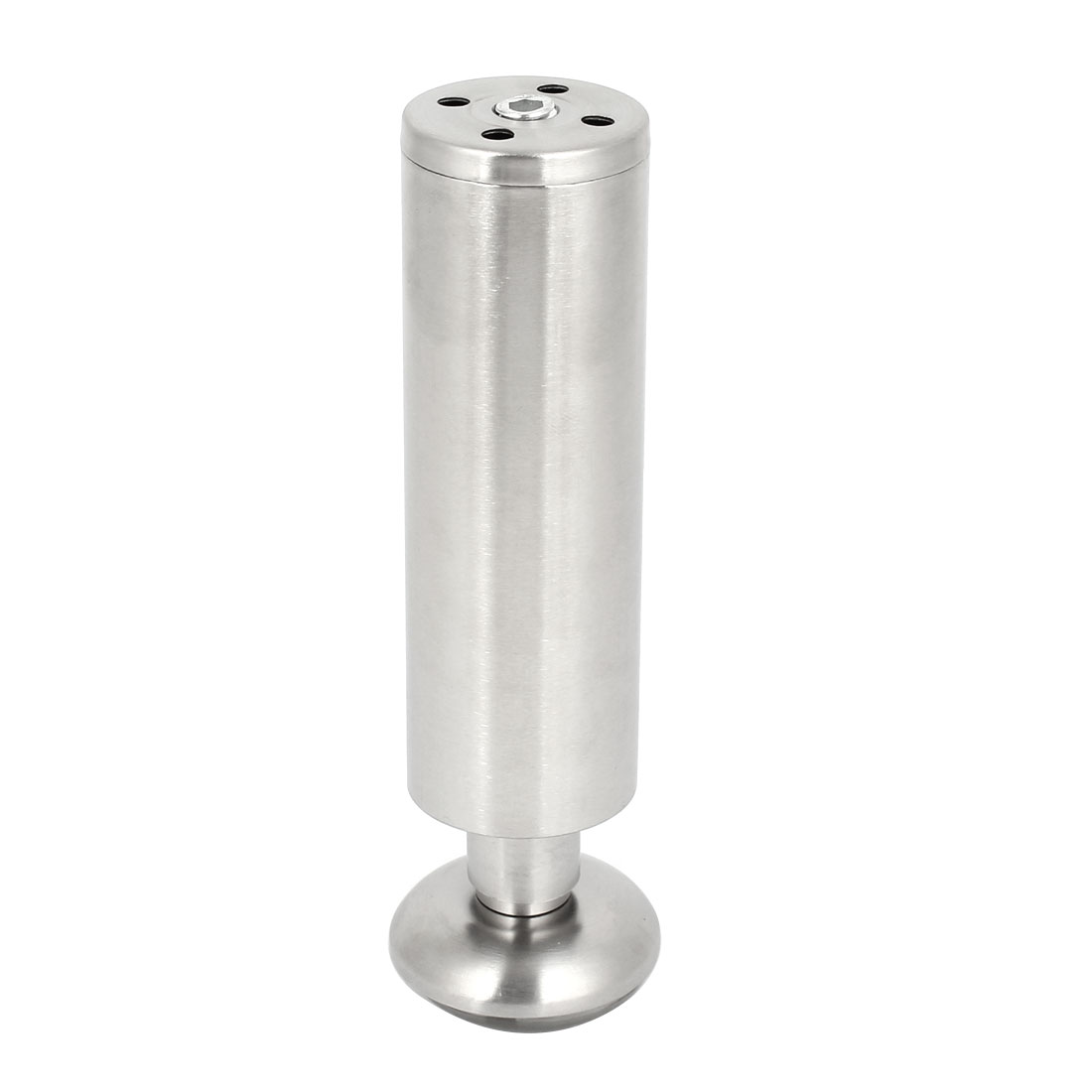 Household Rubber Base 46mmx150mm Adjustable Metal Feet Table Leg