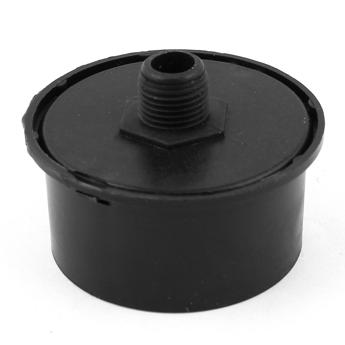 Black 3/8PT Male Thread Inlet Filter Silencer Muffler for Air Compressor