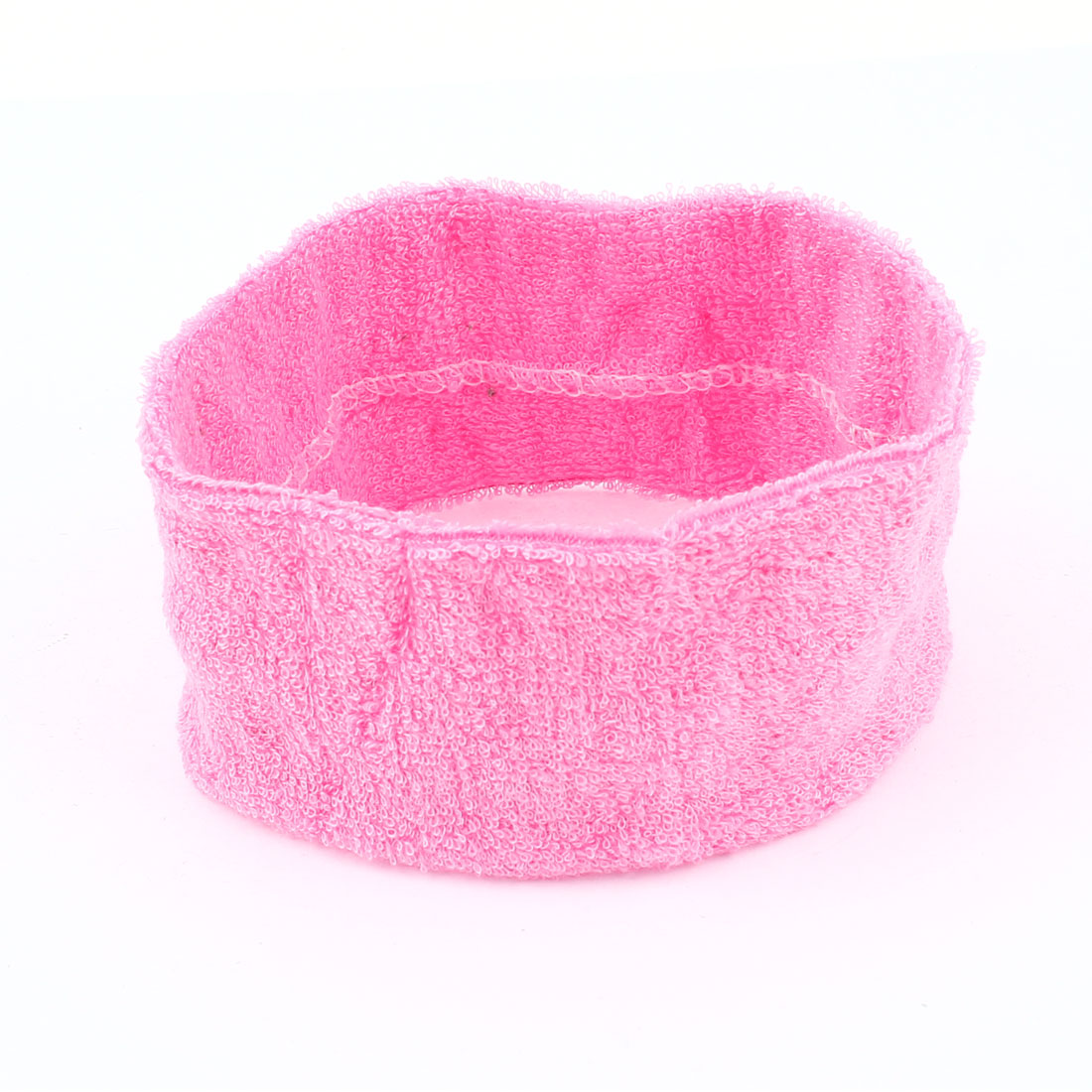 Home Sports Washable Elastic Head Band Headband Hair Holder Pink