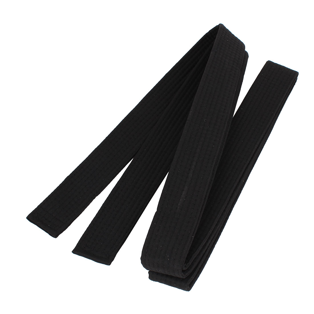 Martial Arts Karate TaeKwonDo Judo Soft Black Belt 8.5ft Long