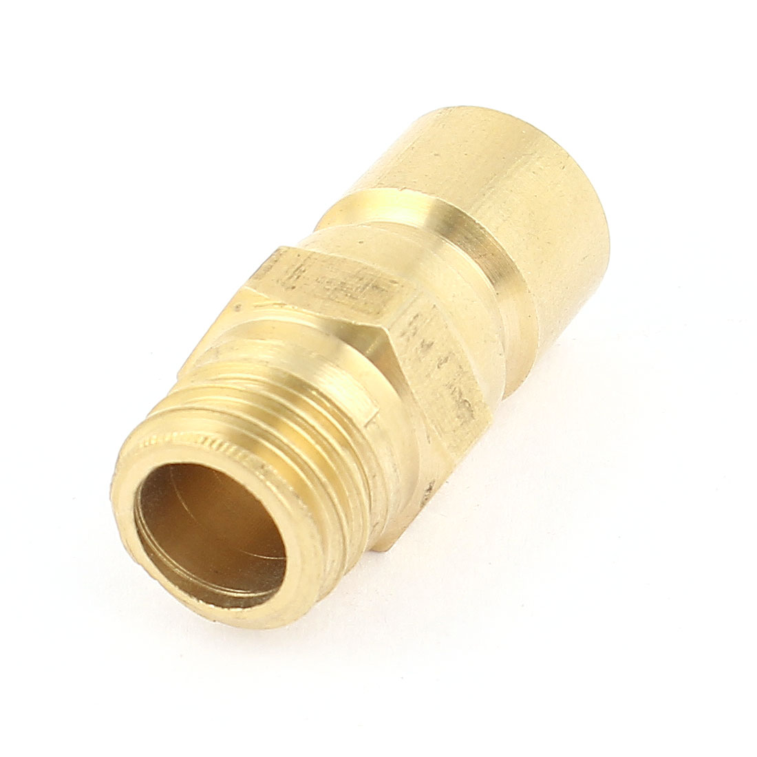 Brass 13mm 1/4PT Male Thread 9mm Pipe Air Pneumatic Quick Joint Coupler