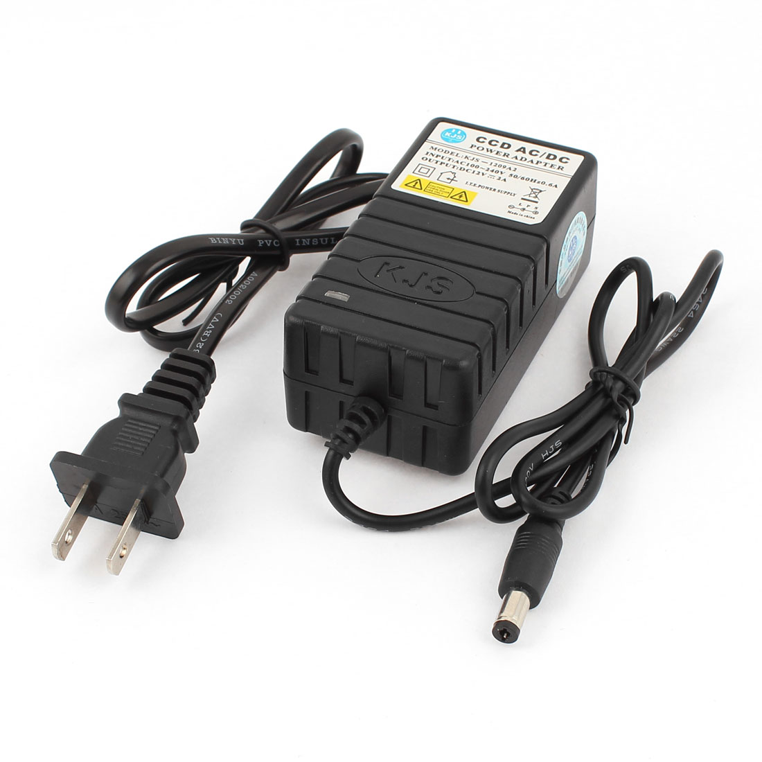 US Plug AC 100-240V to DC 12V 2A 5.5x2.5mm Power Supply Adapter for CCTV Camera