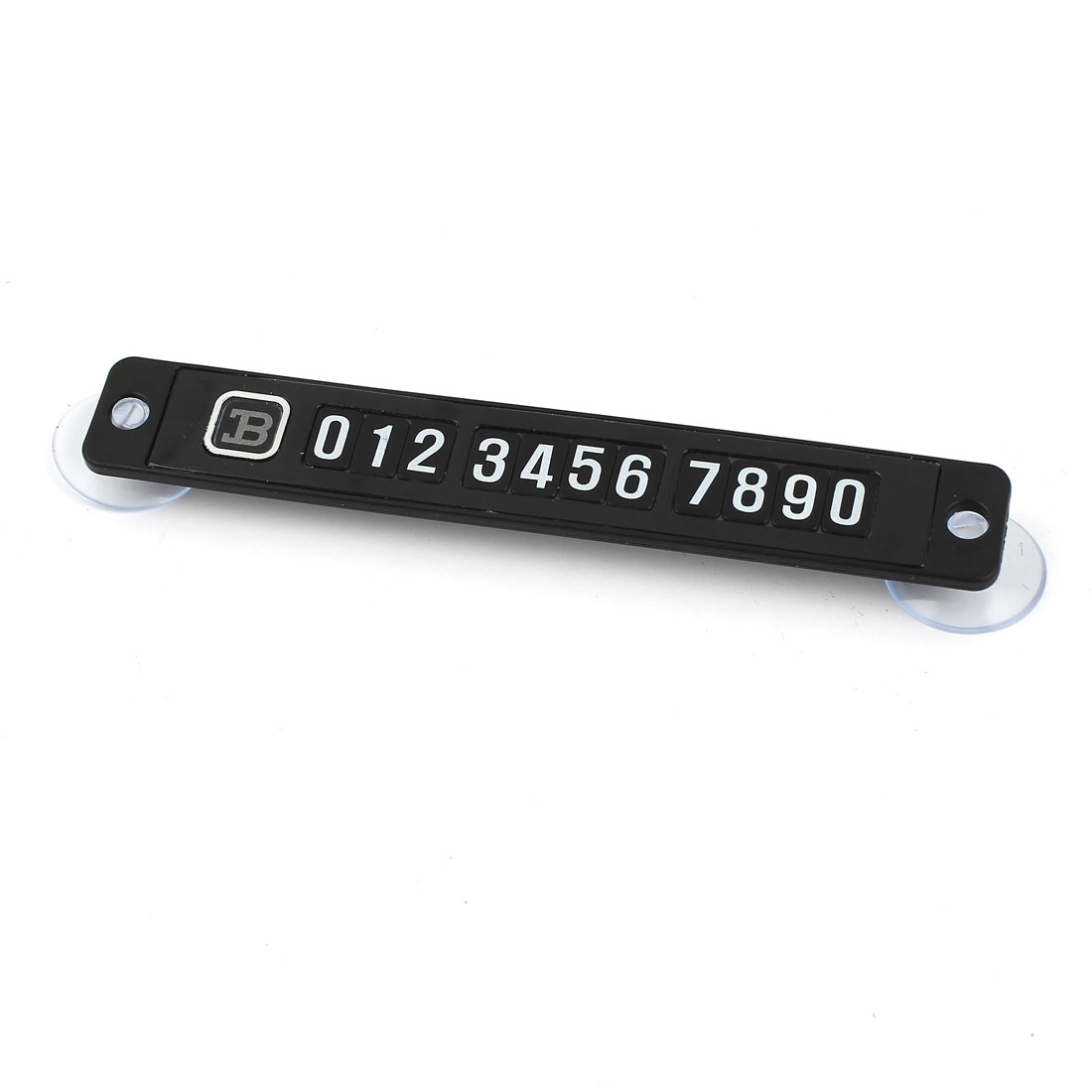 Rectangular Slim Puzzle Phone Number Magnetic Parking Plate for Car