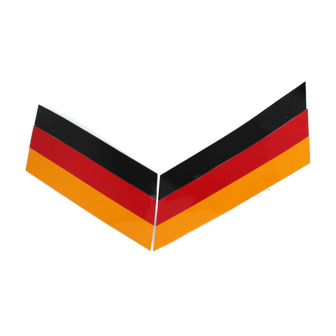 Germany Flag Pattern Bumper Decal Badge Emblem Sticker Red Yellow Black for Car Motorcycle